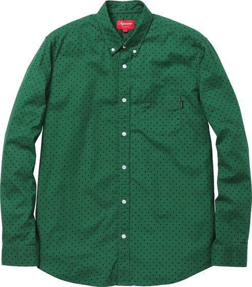 Petit Poá - Green Shirt