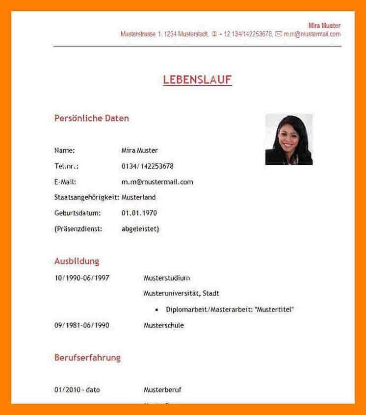 42 Einzigartig Zum Steckbrief Kindergarten Praktikum Vorlagen Lebenslauf Lebenslauf Schuler Lebenslauf