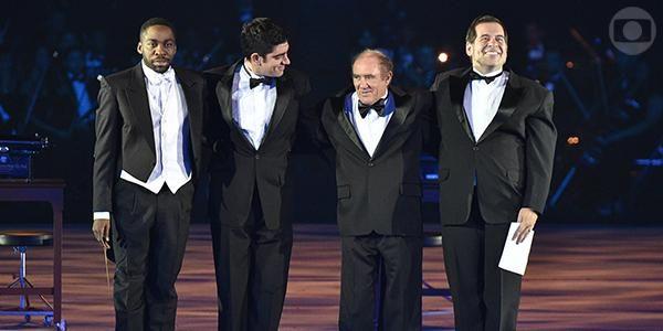 A gente é que agradece a esses mestres do humor! #Globo50