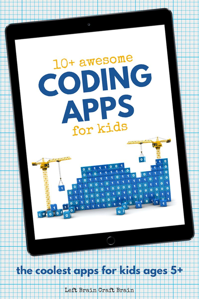 10 Awesome Coding Apps For Kids Coding Apps For Kids Coding Apps Coding For Kids