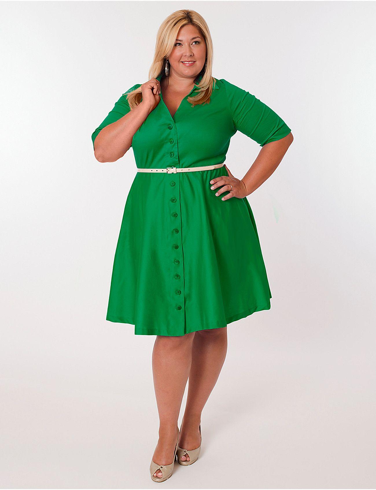 Vineyard Dress in Kelly Green by Eliza Parker (item 166856 ...
