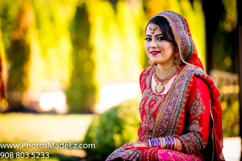 Pakistani/Muslim Bride's Portrait in PA by PhotosMadeEz