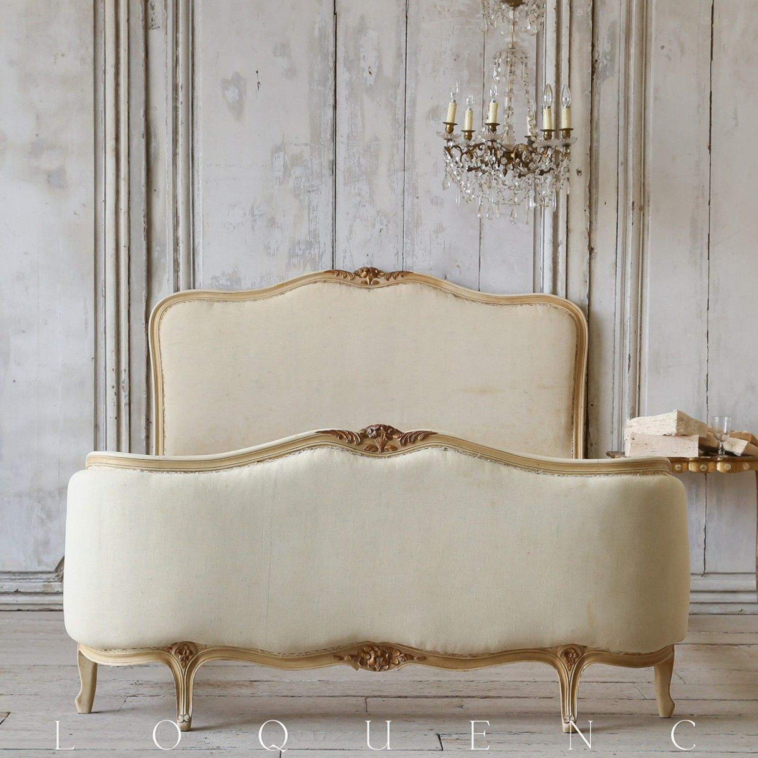1910 Antique Pale Cream Enamel Bed (With images) French
