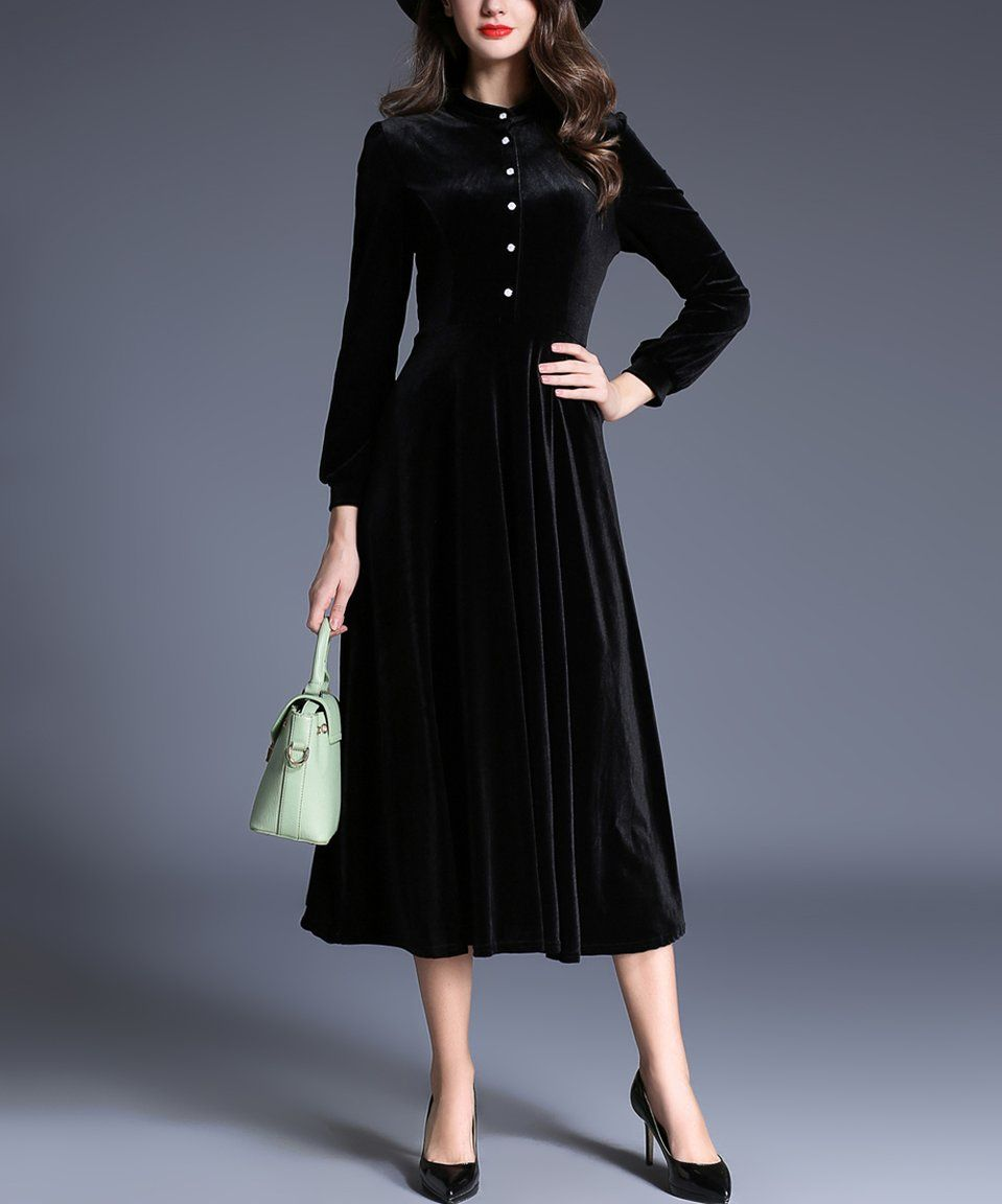 Take a look at this black midi dress today clothing pinterest