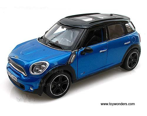 Maisto Mini Cooper Countryman With Sunroof 1 24 Scale Diecast Model Car Blue 31273bu Mini Cooper Countryman Cooper Countryman Mini Cooper