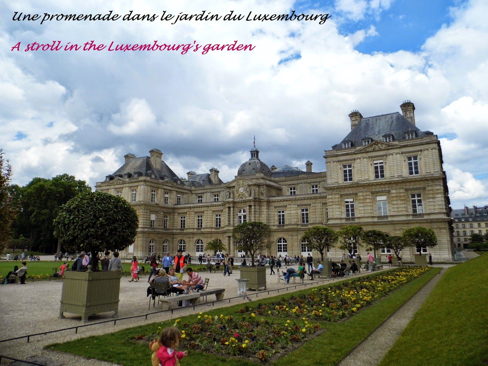 A stroll in the luxembourg 39 s garden paris une promenade for Le jardin luxembourg