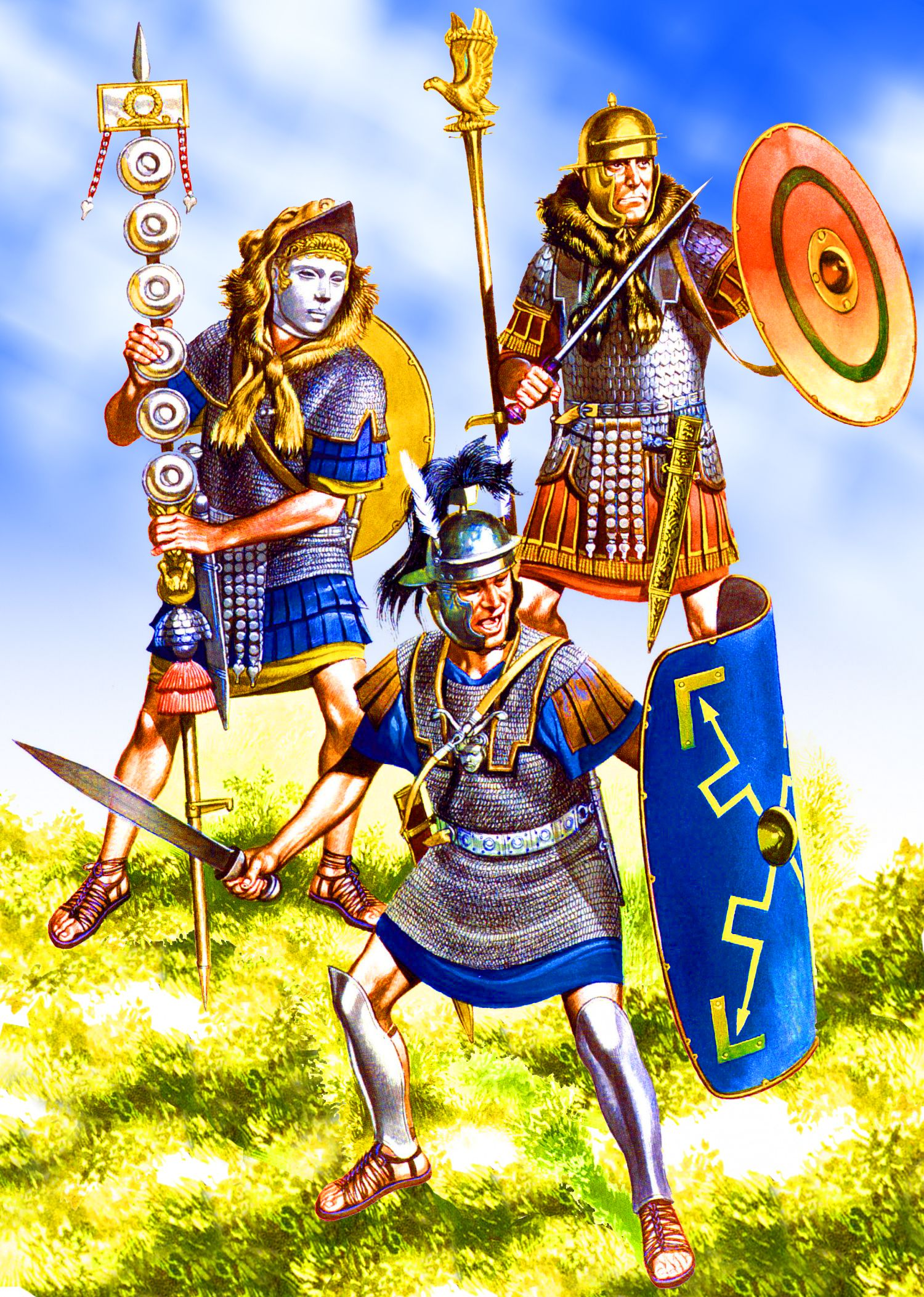 8fe66e34942 Centurio, Legio II Augusta, late Augustan to Tiberian period ...