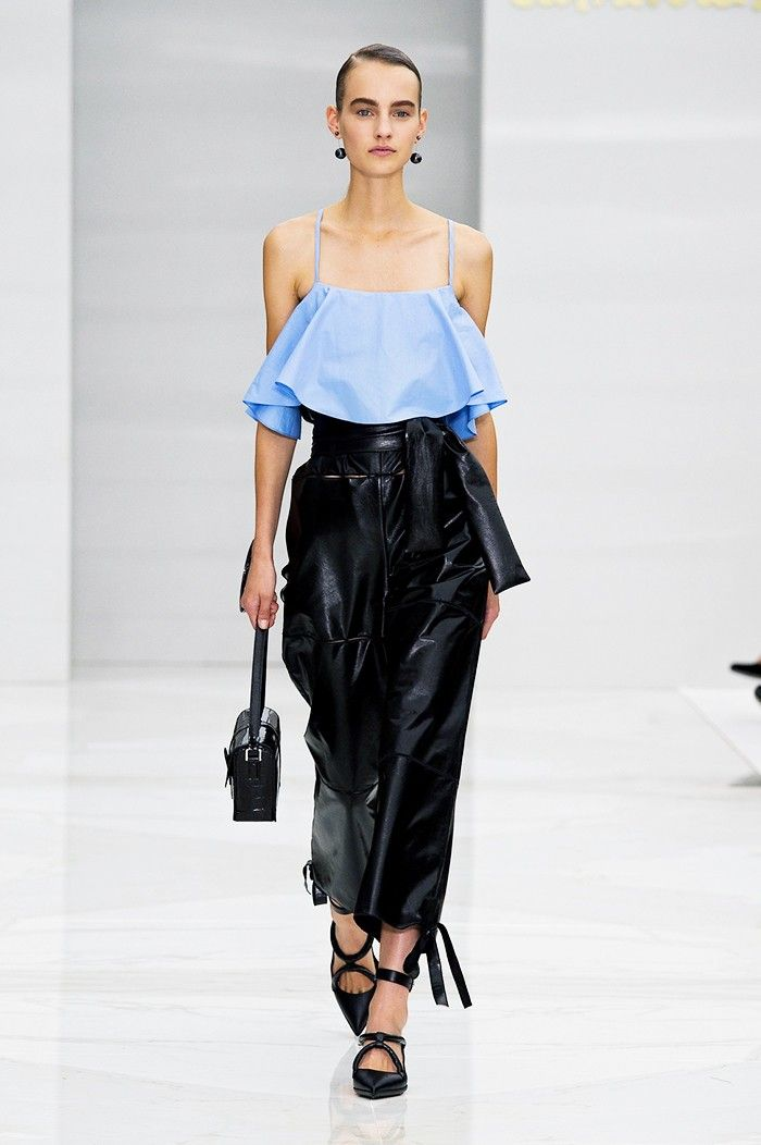 Runway Proof That the 2000s Are Back via @WhoWhatWearUK Salvatore Ferragamo