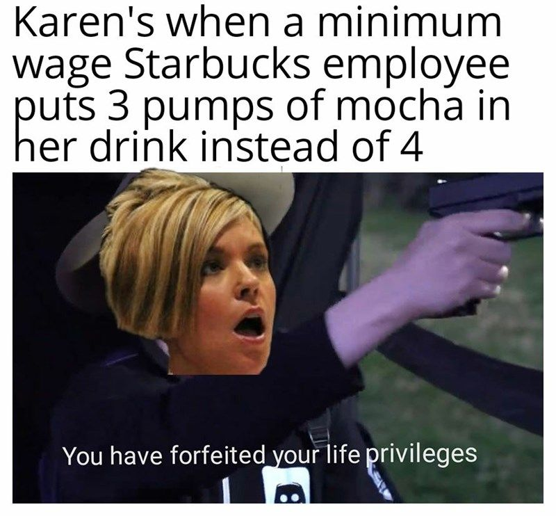 Fifteen Karen Memes That Will Terrify Anyone In Customer Service Karen Memes Memes Customer Service Funny
