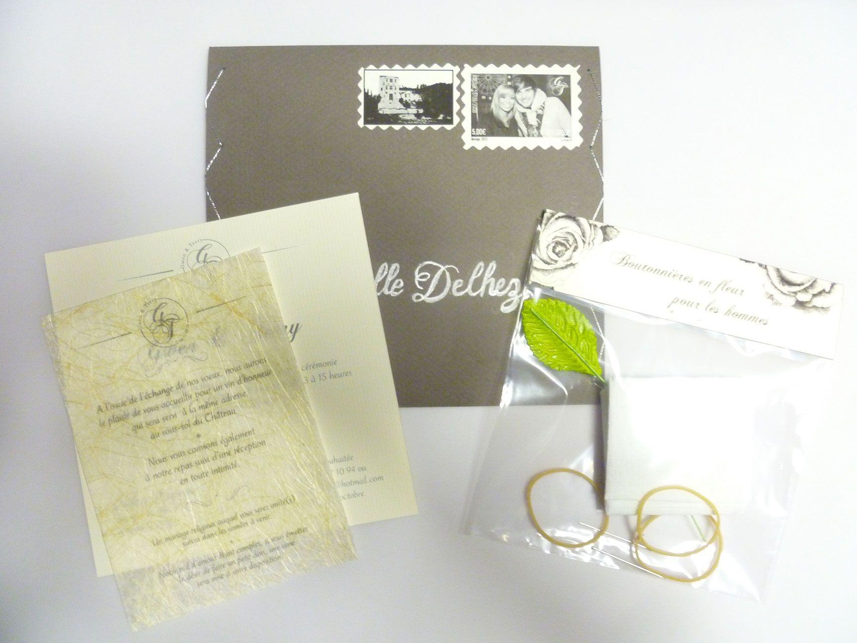 pinterest the worlds catalog of ideas - Boutonnire Invit Mariage