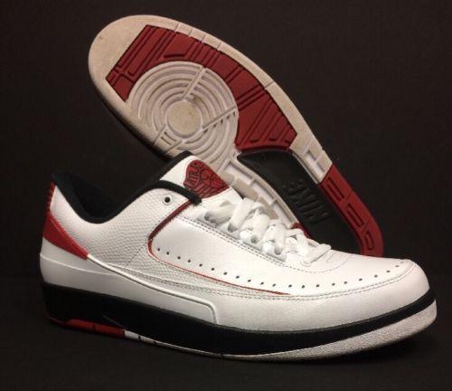 new styles 0e359 08f85 ... coupon for men shoes nike air jordan 2 ii retro chicago mens size 11.5  men 8611a