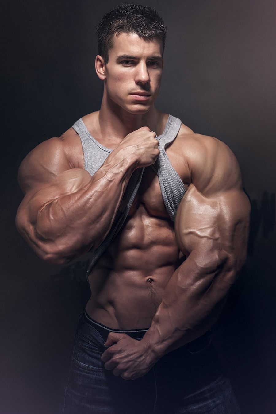 Male Bodybuilders Transformed Into Massive, Bulging -7630