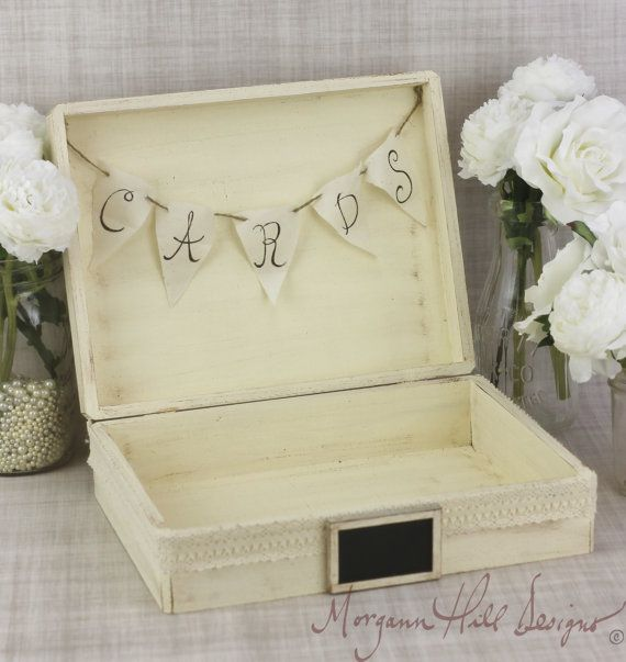 White Wedding Post Box: Rustic Wedding Card Box Advice For The Bride And Groom