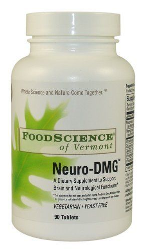 Food Science of Vermont Neuro-DMG Tablets, 90 Count by Food