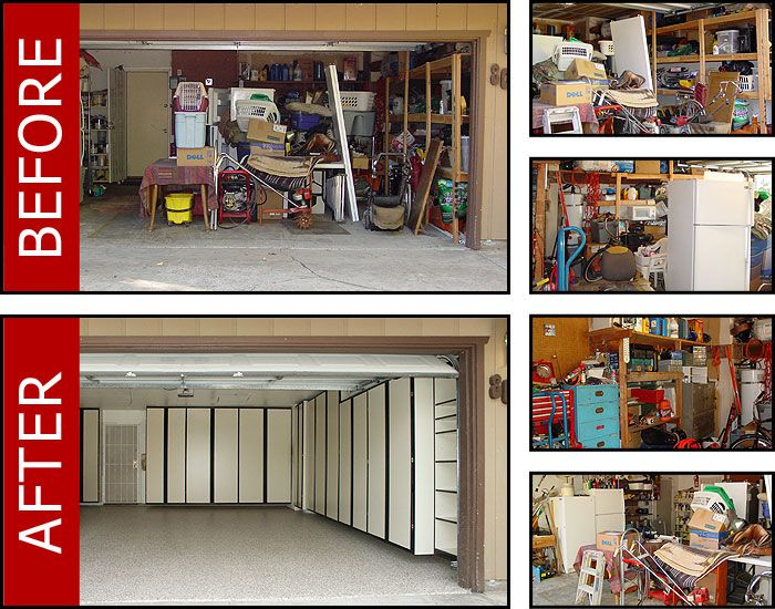before after garage before and after garages pinterest