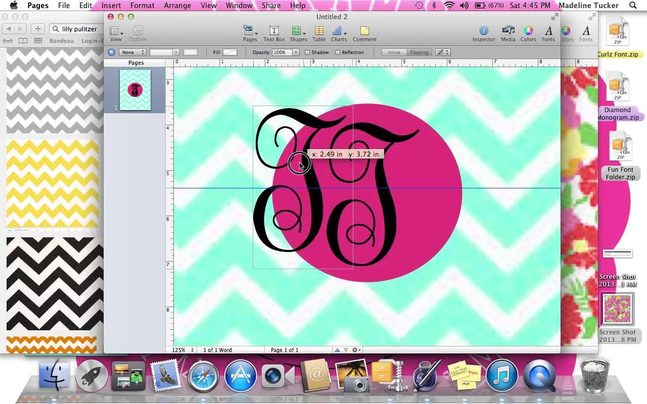how to make a monogrammed binder cover school pinterest binder