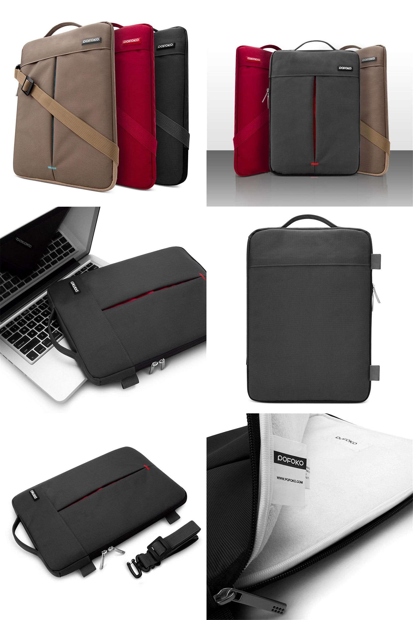 [Visit to Buy] HAINES 2017 New Laptop Bags Notebook Ultrabook Cover Case Sleeve Bag