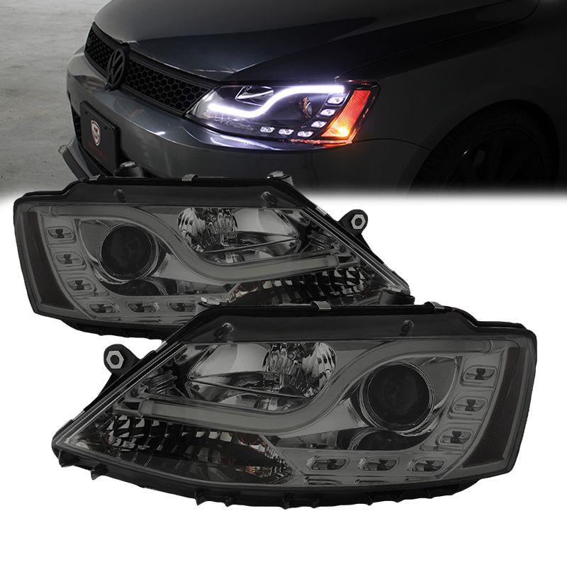 2011-2014 Volkswagen Jetta DRL LED Tube Projector