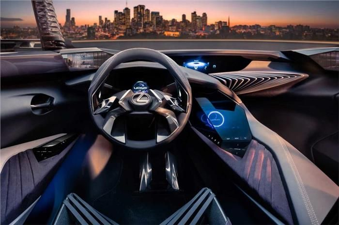Lexus Ux Concept Interior Revealed Car News Suv Crossovers