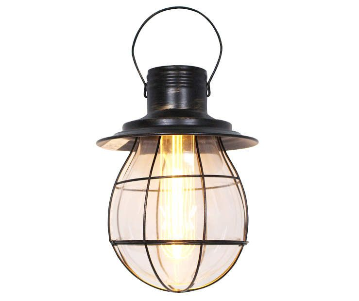 Bronze Led Industrial Pendant Lantern Big Lots In 2020 Battery Operated Lights Decor Battery Operated Lanterns Battery Operated Lights Outdoor