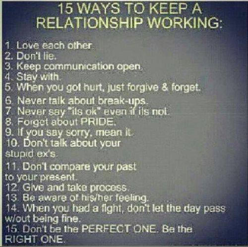 relationship problems and solutions