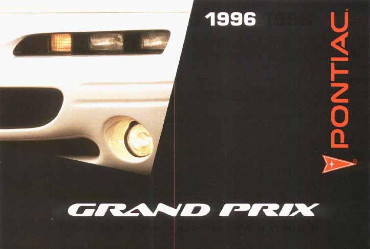 Pontiac Grand-prix 1996 Owner U0026 39 S Manual
