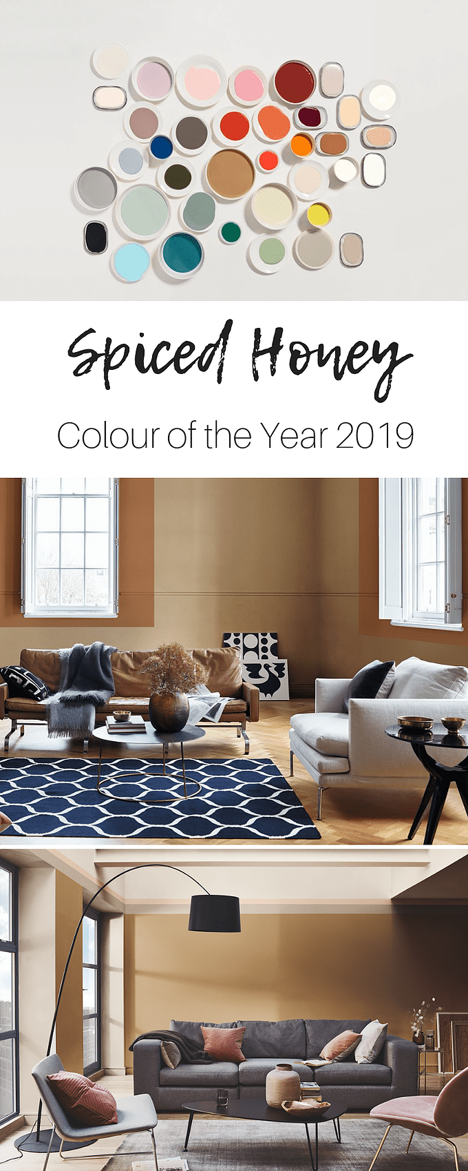 Spiced honey is the dulux colour of the year a beautifully