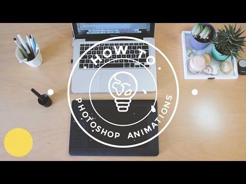 How I Make Photoshop Animations - YouTube   animation...photoshop ...