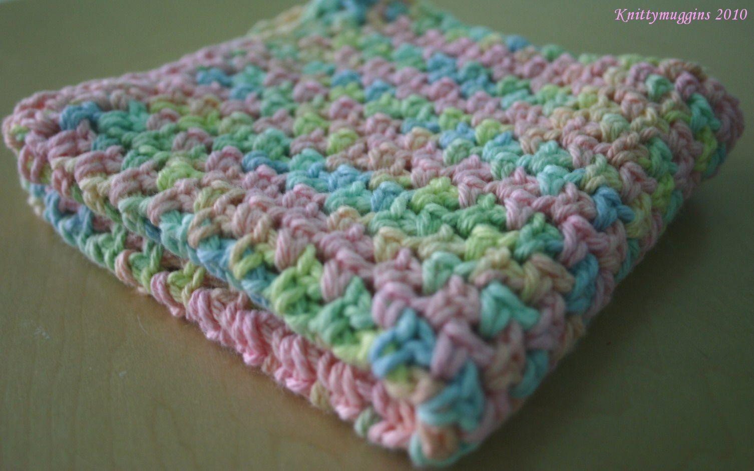 Lily Sugar N Cream Dishcloth Patterns Sugar And Cream Crochet
