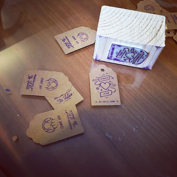 como hacer un sello casero