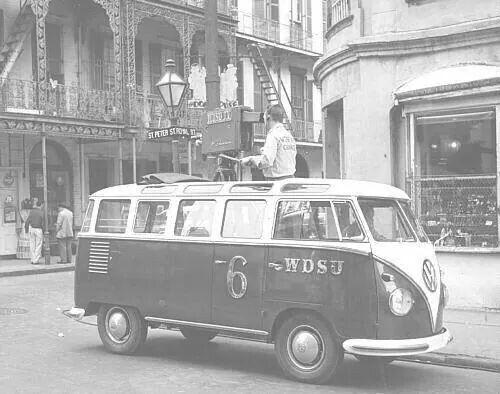 wdsu vw bus vw history pinterest. Black Bedroom Furniture Sets. Home Design Ideas