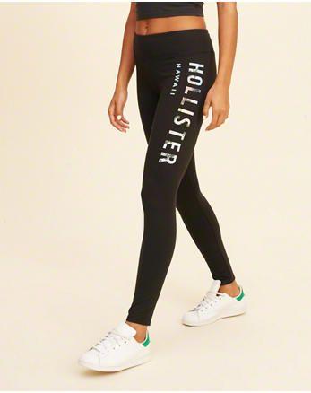 3484aeb688f41b Leggings | Hollister Co. | Lounge | Hollister leggings, Leggings ...