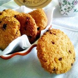 """Biscotti """"impanati"""" con uvetta e cioccolato #foodporn #foodphotography #recipes #cooking #cookies"""