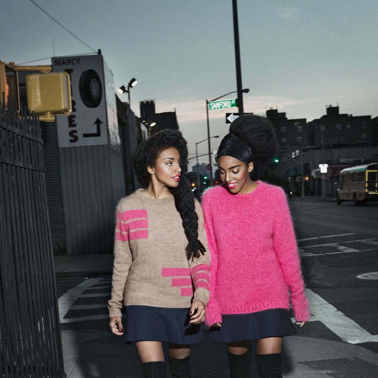 The Quann sisters. Courtesy of & Other Stories.-Wmag