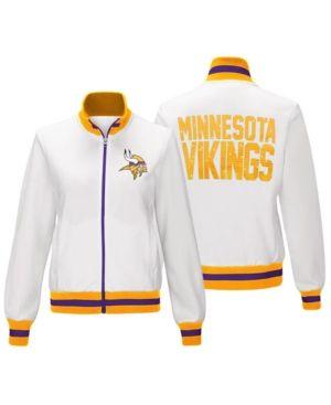 hot sale online 13206 9acf7 G-iii Sports Women Minnesota Vikings Field Goal Track Jacket ...