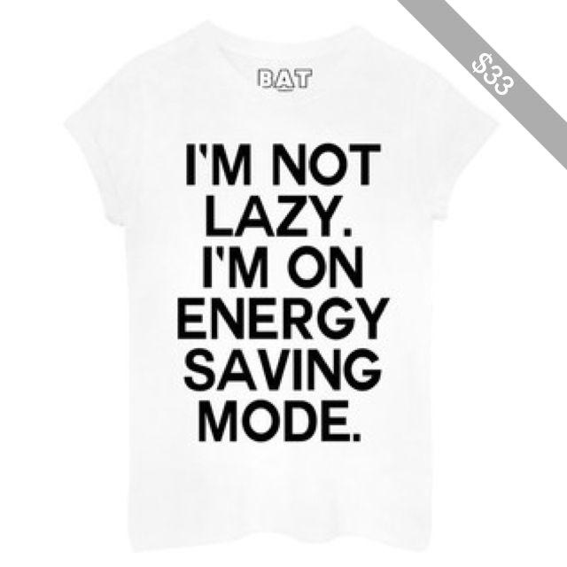 Lazy Tee