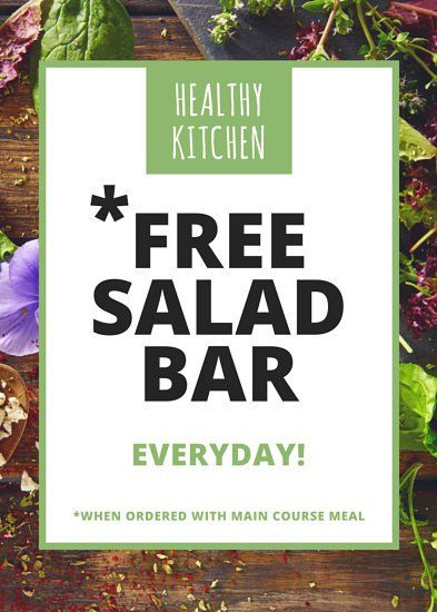 Vegan Restaurant Salad Bar Flyer Canhan Pohjia Pinterest Flyer