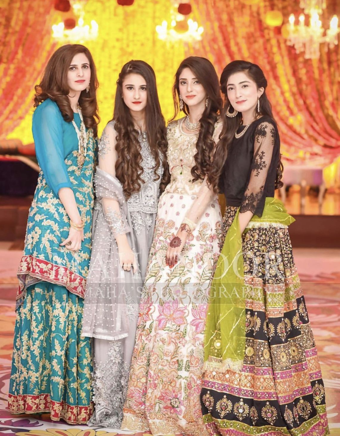 pakistani wedding dresses for teenage girl