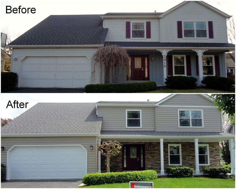 Siding Replacement Featuring Versetta Stone Exterior