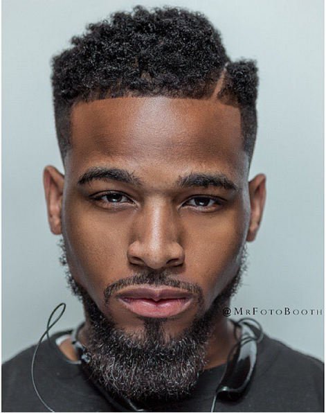 Curly Black Mens Hairstyles Captivating Pinroger Hyman On Better Beards  Pinterest  Black Man