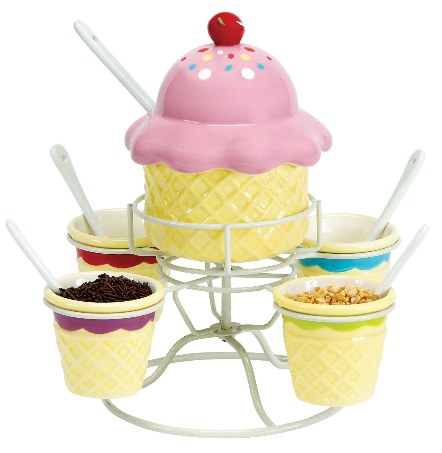 Ice Cream Social Topping Spinner Set 103 39 Cad Amazon Ca Ice