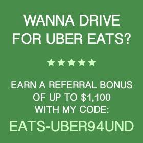 Uber Eats Referral Code: EATS-UBER94UND For more info