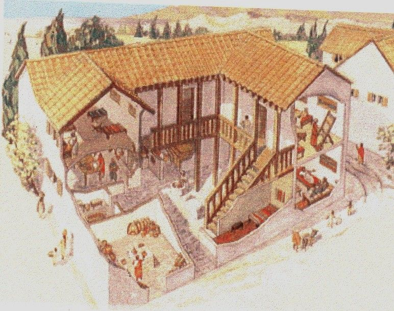 Greek House Jpg 772 609 With Images Ancient Ancient