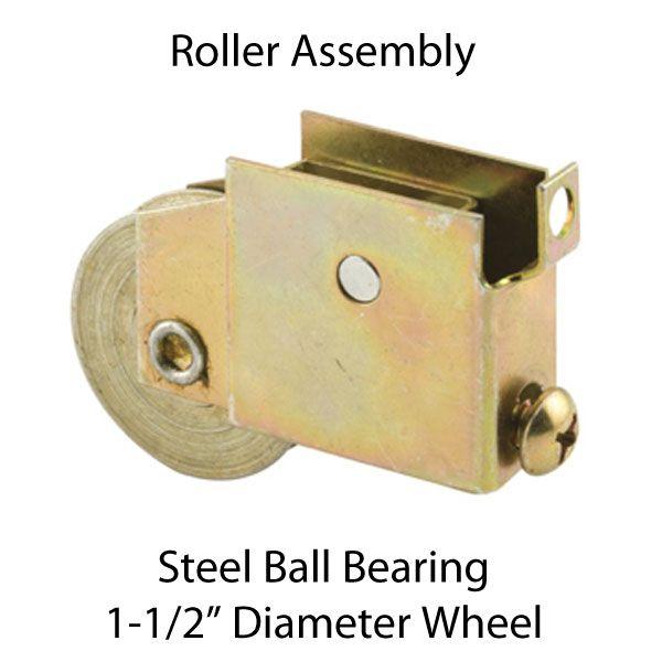1 1 2 Inch Steel Ball Bearing Sliding Door Roller Assembly D 1531 10 95 Door Window Parts For All Of Sliding Door Rollers Sliding Doors Window Parts