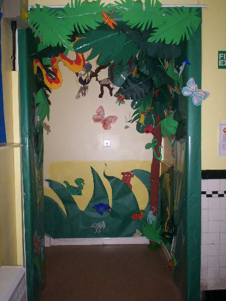 Rainforest Decorating Ideas For Clrooms From Shazna