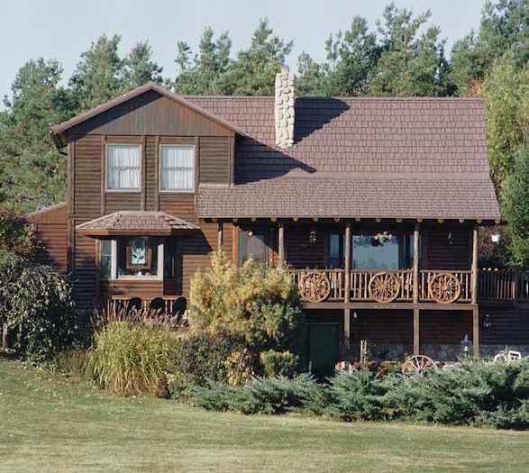 Best North Carolina Log Cabin Home With Cedar Shake Inspired 400 x 300
