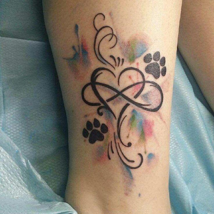 Memorial Tattoo Infinity Paw Print: Pin By Kendra Ellis On Tattoo Ideas