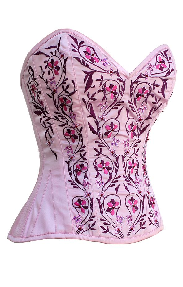 The Violet Vixen - Lady of Roses Pink-Red Corset, $158.64 (http ...