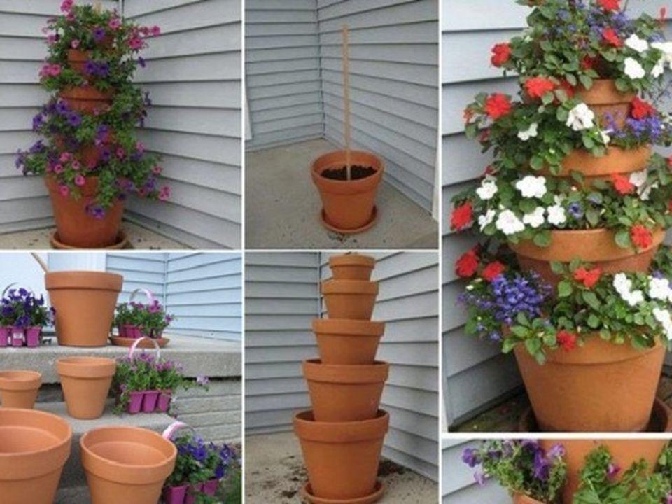 macetas creativas - plantas - reciclados megapost - taringa