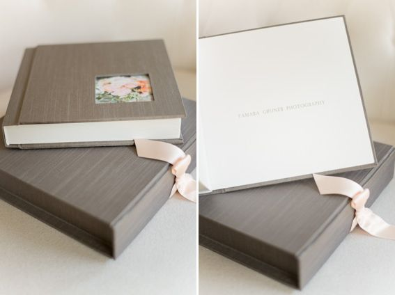 Cypress Wedding Albums are customizable in book cover color and
